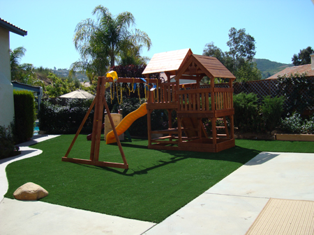 playgrounds synthetic grass